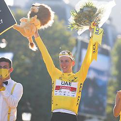 20210718: FRA, Cycling - Trophy ceremony at Tour de France 2021