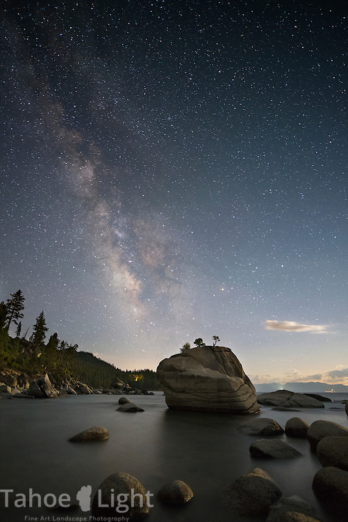 Bonsai Rock Milky Way Tahoe Landscape Photography