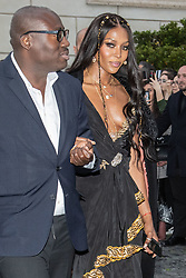 Rome, Gucci Parade at the Capitoline Museums. In the photo: Naomi Campbell