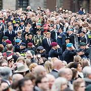 NLD/Amsterdam/20170504 - Nationale Herdenking 2017, aankomst Willem-Alexander en Maxima