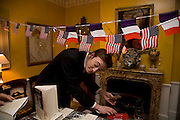 MICHAEL UPCHURCH, Book launch for American's in Paris by Charles Glass hosted by Lady Annabel Lindsay. Holland Park. London. 25 March 2009 *** Local Caption *** -DO NOT ARCHIVE-© Copyright Photograph by Dafydd Jones. 248 Clapham Rd. London SW9 0PZ. Tel 0207 820 0771. www.dafjones.com.<br /> MICHAEL UPCHURCH, Book launch for American's in Paris by Charles Glass hosted by Lady Annabel Lindsay. Holland Park. London. 25 March 2009
