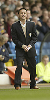 Photo: Aidan Ellis.<br /> Leeds United v Luton Town. Coca Cola Championship. 10/03/2007.<br /> Leeds manager Dennis Wise