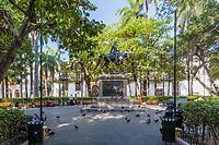Cartagena , Colombia  - March 9, 2017 : Centro Historico<br /> area of Cartagena de los indias Bolivar in Colombia South America
