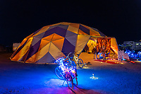 Nice Dome by Beej S - (Thanks Greg for the caption update here.) - https://Duncan.co/Burning-Man-2021
