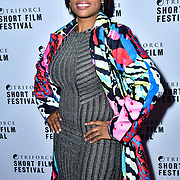 Shantelle Rochester attend TriForce Short Festival, on 30 November 2019, at BFI Southbank, London, UK.