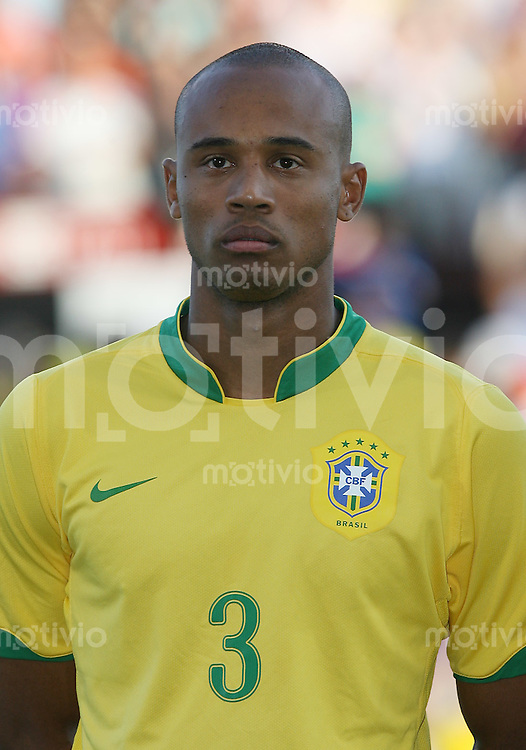 Fussball International U 20 WM  Brasilien-Vereinigte Staaten von Amerika LUIZAO (BRA)   .