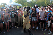 """August 27, 2016- Brooklyn, New York-United States: Recording Artist/Poet/Actor Saul Williams  the 2016 AfroPunk Brooklyn Concert Series held at Commodore Barry Park on August 27, 2016 in Brooklyn, New York City. Described by some as """"the most multicultural festival in the US,"""" which includes an eclectic line-up and an audience as diverse as the acts they come to see. (Photo by Terrence Jennings/terrencejennings.com)"""