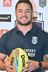 October 26, 2016 - Auckland, Auckland, New Zealand - Jarryd Hayne poses for a photo during a media conference in Auckland, New Zealand/ Jarryd Hayne is a world class international NRL player, He is announcing he is playing the Downer NRL Auckland Nines next year  (Credit Image: © Shirley Kwok/Pacific Press via ZUMA Wire)