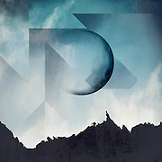 Surreal mountainscape with full moon - image manipulation<br /> Society6 Prints: http://bit.ly/2jKreda<br /> Redbubble Prints & more: http://rdbl.co/2k49Tz5