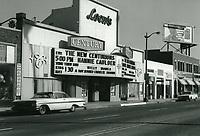 1972 Century Theater at 5115 Hollywood Blvd