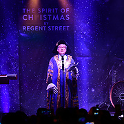 Regent Street Christmas Lights switch-on celebrate its 200th anniversary on 14 November 2019, London, UK.