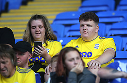 Birmingham City fans in the stands