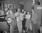 ackroyd-00083-311. Timberline Lodge. Swiss skier's party. March 30, 1947
