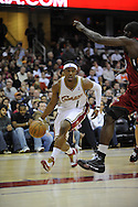 Daniel 'Boobie' Gibson of Cleveland..The Miami Heat lost to the host Cleveland Cavaliers 84-76 at Quicken Loans Arena, April 13, 2008...