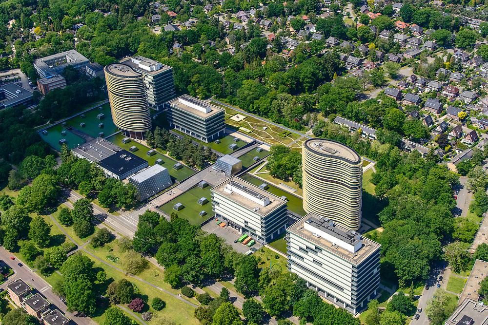 Nederland, Gelderland, Apeldoorn, 29-05-2019; Apeldoorn West met (de wijk) Sprengenbos en omgeving. Gebouwen van de Belastingdienst, Centrum voor Applicatieontwikkeling en - Onderhoud.<br /> Buildings of the Tax Administration Center.<br /> luchtfoto (toeslag op standard tarieven);<br /> aerial photo (additional fee required);<br /> copyright foto/photo Siebe Swart