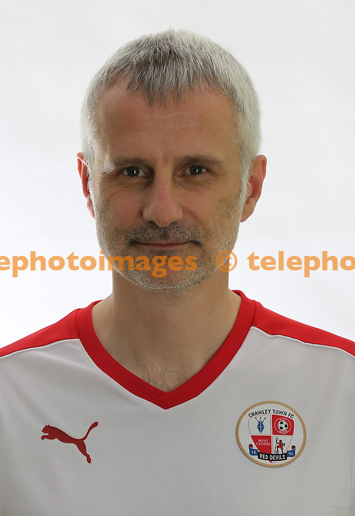 Crawley Town Football Club Doctor Jerry Hill.<br /> James Boardman / Telephoto Images<br /> +44 7967 642437