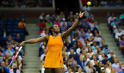 September 2, 2018 - Sloane Stephens of the United States in action during her fourth-round match at the 2018 US Open Grand Slam tennis tournament. New York, USA. September 02th, 2018. (Credit Image: © AFP7 via ZUMA Wire)