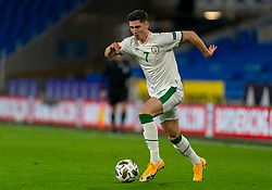 CARDIFF, WALES - Sunday, November 15, 2020: Republic of Ireland's Callum O'Dowda during the UEFA Nations League Group Stage League B Group 4 match between Wales and Republic of Ireland at the Cardiff City Stadium. Wales won 1-0. (Pic by David Rawcliffe/Propaganda)