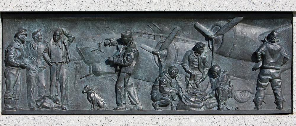 The National World War II Memorial, Washington DC, USA