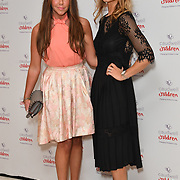 Michelle Heaton, Victoria Adams attends the Children's charity hosts fashion and beauty lunch event, with live entertainment at The Dorchester, London, UK. 12 October 2018.