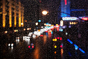 Image of The Strip at night in the rain, Las Vegas, Nevada, American Southwest by Randy Wells