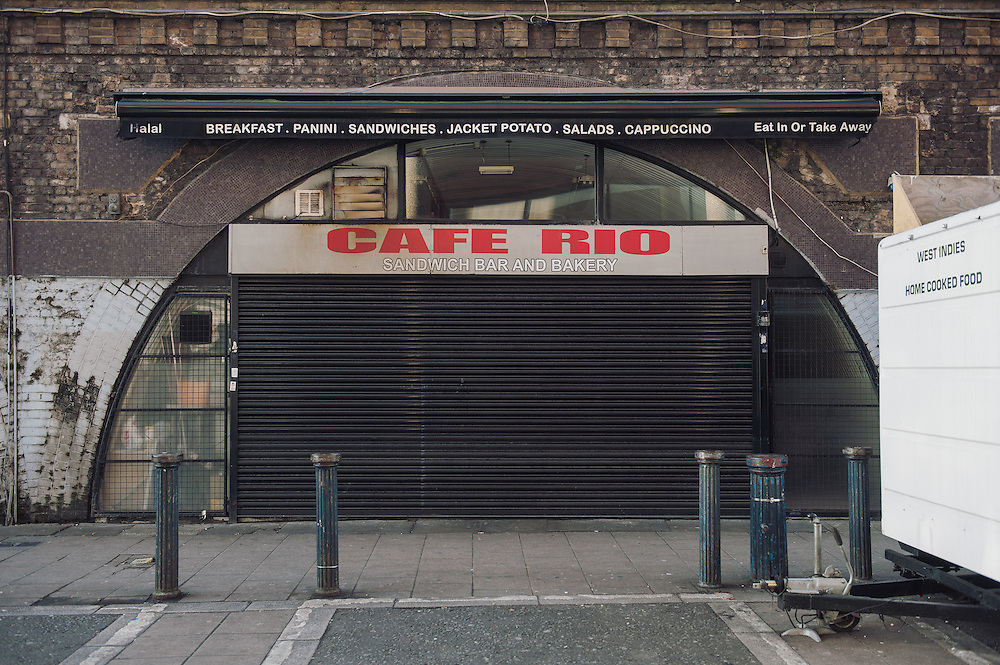 Cafe Rio. <br /> 30 Brixton Station Road.<br /> <br /> Mohamed Kheddache opened Cafe Rio 9 years ago.