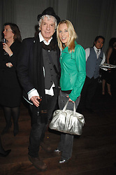 NICKY HASLAM and IMOGEN LLOYD WEBBER at a party to promote The Landau at The Langham, Portland Place, London W1 on 7th February 2008.<br /><br />NON EXCLUSIVE - WORLD RIGHTS