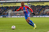 Crystal Palace forward Wilfried Zaha (11) during The FA Cup 3rd round match between Crystal Palace and Grimsby Town FC at Selhurst Park, London, England on 5 January 2019.