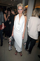 KALITA AL-SWAIDI at a party hosted by TOD's to celebrate the launch of the J.P.Loafer collection, held at the TOD's Boutique, 2-5 Old Bond Street, London on 31st March 2009.
