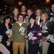 NLD/Amersfoort/20060213 - Presentatie Spijkerhoek DVD, Mary Lou Steenis, Joep Sertons, Michiel Kerkbosch, Wilfred Klaver, Hymke de Vries, Cynthia Abma