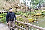 Hugo Torii, Director of Ground Maintenance at the Portland Japanese Garden, Portland, OR
