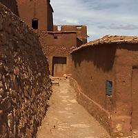 Africa, Morocco, Ourazazate. Ait Ben Haddou road.