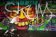 The undercroft of the foyer building of the Queen Elizabeth Hall on the Southbank has been popular with skateboarders since the early 70's and it is widely acknowledged to be London's most distinctive and popular skateboarding area. The area is used by skateboarders, BMXers, graffiti artists, taggers, photographers, buskers, and performance artists, among others. Although this informal activity, social and arts scene is a distinctive feature of the Southbank Centre site, it was proposed that the area would be redeveloped. However a statement from the Prime Minister's office may save the undercroft for these uses.