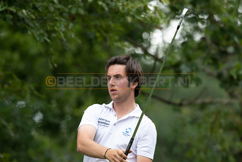 20-07-2019 Pictures of the final day of the Zwitserleven Dutch Junior Open at the Toxandria Golf Club in The Netherlands.<br /> BROUN, Jack
