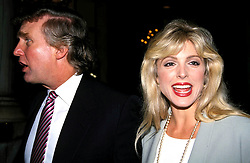 Jan. 1, 2011 - New York, New York, U.S. - K5974HMC.DONALD TRUMP_MARLA MAPLES.©   /    1992.(Credit Image: © Henry McGee/ZUMAPRESS.com)