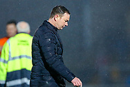Plymouth Argyle manager Derek Adams at full time during the EFL Sky Bet League 1 match between Wycombe Wanderers and Plymouth Argyle at Adams Park, High Wycombe, England on 26 January 2019.