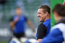 Bath Rugby first team coach Toby Booth looks on during the pre-match warm-up - Mandatory byline: Patrick Khachfe/JMP - 07966 386802 - 13/10/2018 - RUGBY UNION - The Recreation Ground - Bath, England - Bath Rugby v Toulouse - Heineken Champions Cup