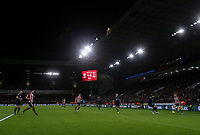 Sheffield United's Oliver McBurnie runs at the West Ham United defence <br /> <br /> Photographer Rich Linley/CameraSport<br /> <br /> The Premier League - Sheffield United v West Ham United - Friday 10th January 2020 - Bramall Lane - Sheffield <br /> <br /> World Copyright © 2020 CameraSport. All rights reserved. 43 Linden Ave. Countesthorpe. Leicester. England. LE8 5PG - Tel: +44 (0) 116 277 4147 - admin@camerasport.com - www.camerasport.com