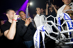 May 22, 2017 - Willebroek, BELGIUM - Anderlecht's Youri Tielemans celebrate during a party in the Carre Discotheque after Belgian soccer team RSC Anderlecht won their 34th title, Sunday 21 May 2017 in Willebroek. BELGA PHOTO JASPER JACOBS (Credit Image: © Jasper Jacobs/Belga via ZUMA Press)