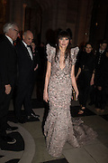Annabelle Neilson , Alexander McQueen: Savage Beauty Gala, Victoria and Albert Museum, and A. 12th March 2015