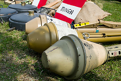 Cleethorpes 2015 - Panzerfaust and Teller Mines<br /> <br /> August 2015<br />  Image © Paul David Drabble <br />  www.pauldaviddrabble.co.uk