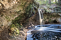 This rare natural waterfall is found on the edge of the Osceola National Forest in Columbia County,  north of Lake City. This is just one of the many extraordinary sights to be seen in rural Florida!