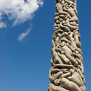 Vigeland Sculpture Park by sculptor Gustav Vigeland (1869-1943) with more than 200 sculptures in bronze, granite and cast iron, Oslo, Norway, Europe