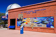 Visitor center at Kit Peak National Observatory, Tohono O'odham Indian Reservation, Arizona USA