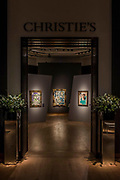 Pablo Picasso, Mousquetaire et nu assis (c), Est. GBP 12,000,000 - GBP 18,000,000 -Christie's unveil an exhibition of in advance of their Impressionist and Modern sale on 27 February.