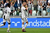Miralem Pjanic Juventus celebrates scoring with Blaise Matuidi esultanza gol <br /> Torino 25-08-2018 Allianz Stadium Football Calcio Serie A 2018/2019 Juventus - Lazio Foto OnePlusNine / Insidefoto