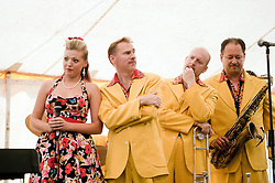 Lil' Miss Hayley and the Jive Aces..9 September 2012.Image © Paul David Drabble