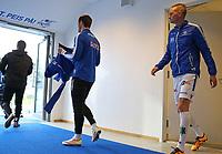 Fotball , 16. april 2017 , Eliteserien, Haugesund - Odd.<br />Erik Huseklepp fra Haugesund før kampen mot Odd.<br />Foto: Andrew Halseid Budd , Digitalsport