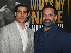 May 8, 2019 - Los Angeles, California, USA - 08, May 2019 - Pasadena, California. Peter Nelson and Kary Antholis attends 'What's My Name | Muhammad Ali' HBO Documentary Premiere at Regal Cinemas LA LIVE 14 in Los Angeles, California. (Credit Image: © Billy Bennight/ZUMA Wire)