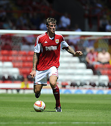 Bristol City's Aden Flint  - Photo mandatory by-line: Joe Meredith/JMP - Tel: Mobile: 07966 386802 13/07/2013 - SPORT - FOOTBALL - Bristol -  Bristol City v Glasgow Rangers - Pre Season Friendly - Bristol - Ashton Gate Stadium
